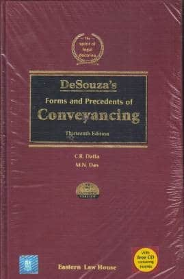 ELH's DeSouza's Forms & Precedents of Conveyancing Containing Forms in CD-Rom