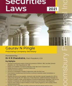 Bloomsbury's Handbook on Securities Laws by Gaurav Pingle - 1st Edition June 2021