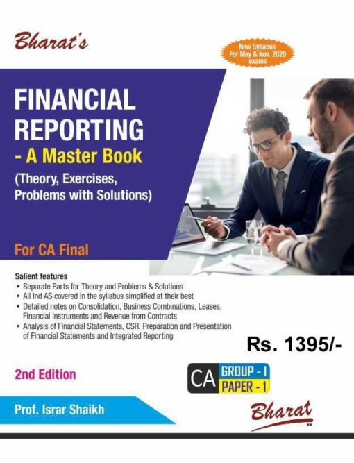 Bharat's Financial Reporting - A Master Book (Theory, Exercises, Problems with Solutions) by Israr Shaikh for May 2020