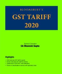 Bloomsbury's GST Tariff 2020 by CA Bhavesh Gupta - 1st Edition February 2020