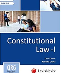Constitution Law - I: Lexisnexis Quick Reference Guide