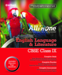 CBSE All In One English Language and Literature Class 9