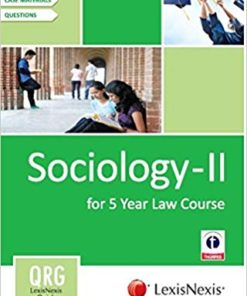 Quick Reference Guides: Sociology - II (For 5 Year Law Course)