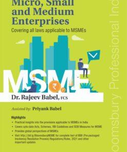 Bloomsbury's Treatise on Micro, Small and Medium Enterprises by Rajeev Babel - 1st Edition June 2021