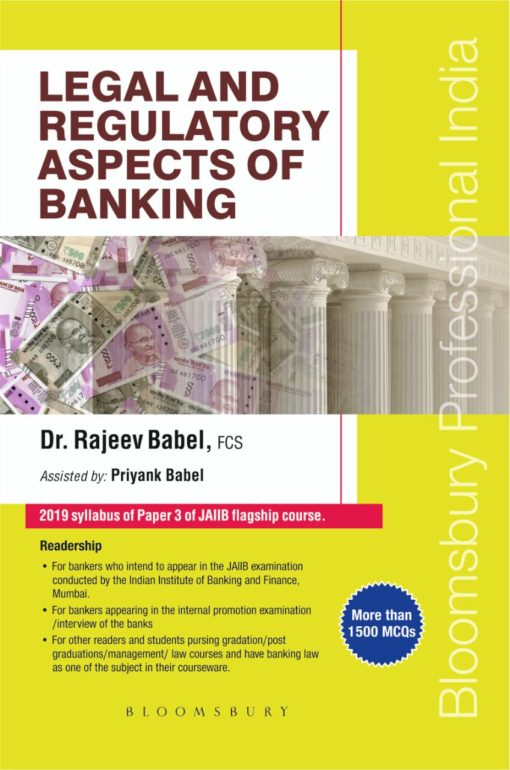 Bloomsbury's Legal and Regulatory Aspects of Banking