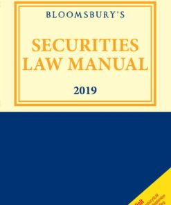 Bloomsbury Securities Law Manual 2019, 1st Edition June 2019
