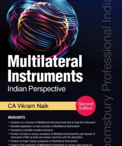 Bloomsbury's Multilateral Instruments - An Indian Perspective by CA Vikram Naik - 2nd Edition September 2020