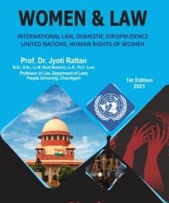 Bharat's Women & Law by Dr. Jyoti Rattan - 1st Edition 2021