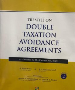 Snow white's Treatise on Double Taxation Avoidance Agreements by S Rajaratnam - 11th Edition August 2020