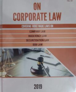 Corporate Law Adviser Case Book on Corporate Law by Mamta Bhargava Edition 2019