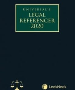 Lexis Nexis Legal Referencer 2020 (Compact Edition) by Universal 1st Edition August 2019