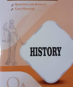 GLA's Question & Answers on History by Dr. Rega Surya Rao 1st Edition 2019