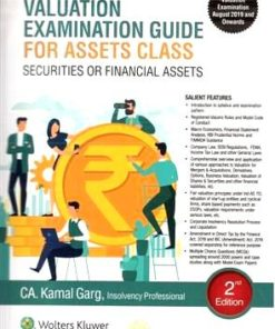 Wolters Kluwer Valuation Examination Guide For Assets Class Securities or Financial Assets By Kamal Garg 2nd Edition September 2019