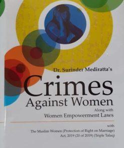 DLH's Crimes Against Women by Surinder Mediratta 3rd Edition 2019