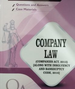 GLA's Questions & Answers on Company Law (Along with Insolvency & Bankruptcy Code 2016) by Dr. Rega Surya Rao 1st Edition 2019