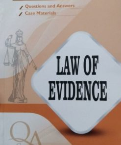 GLA's Questions & Answers on Law of Evidence by Dr. Rega Surya Rao 1st Edition 2019