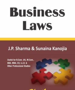Bharat's Business Laws by J.P. Sharma & Sunaina Kanojia 1st Edition 2019