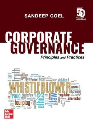McGraw-Hill's Corporate Governance: Principles and Practices by Sandeep Goel, 1st Edition September 2019