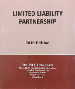 Bharat's Limited liability Partnership by Dr. Jyoti Rattan 1st Edition 2019