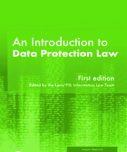 LexisNexis Butterworths Introduction to Data Protection Law First Edition 2019