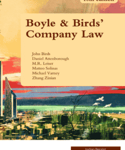 LexisNexis Company Law by Boyle & Bird, 10th Edition 2019