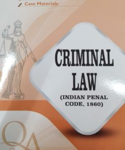 GLA's Questions & Answers on Criminal law (Indian Penal Code) by Dr. Rega Surya Rao 1st Edition 2019