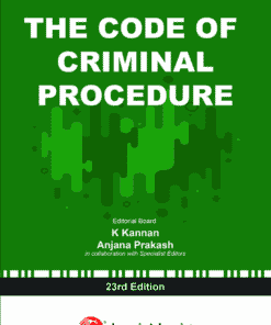 Lexis Nexis's The Code of Criminal Procedure Code by Ratanlal & Dhirajlal 23rd Edition 2020