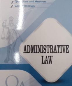 GLA's Questions & Answers on Administrative Law by Dr. Rega Surya Rao 1st Edition 2019
