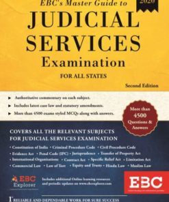 EBC's Master Guide to Judicial Services Examination by EBC, 2nd Edition 2020