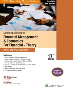 Wolters Kluwer's Simplified Approach to Financial Management & Economics For financial Theory by K. Hariharan for May 2020 Exam