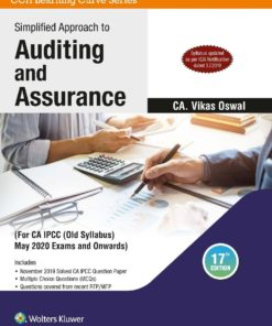 Wolters Kluwer's Simplified Approach to Auditing and Assurance by Vikas Oswal for May 2020 Exam