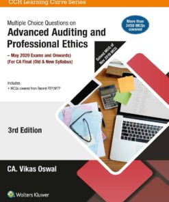 Wolters Kluwer's Multiple Choice Questions on Advanced Auditing And Professional Ethics by Vikas Oswal for May 2020 Exam