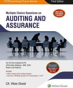 Wolters Kluwer's Multiple Choice Questions on Auditing and Assurance by Vikas Oswal for May 2020 Exam