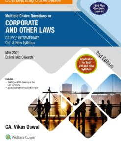 Wolters Kluwer's Multiple Choice Questions on Corporate and other laws by Vikas Oswal for May 2020 Exam