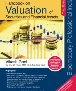 Bloomsbury's Handbook on Valuation of Securities and Financial Assets by Vikash Goel - 3rd Edition July 2020