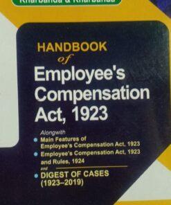 LPH's Handbook of Employee's Compensation Act, 1923 by V.K. Kharbanda Edition 2020