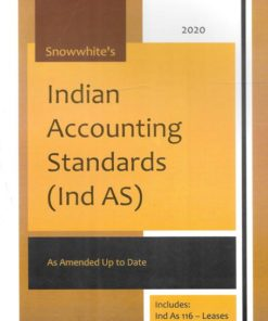 Snow white's Indian Accounting Standards (Ind As) - 1st Edition January 2020