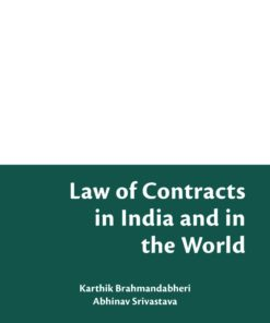 Bloomsbury's Law of Contracts in India and in the World by Karthik Brahmandabheri - 1st Edition February 2020