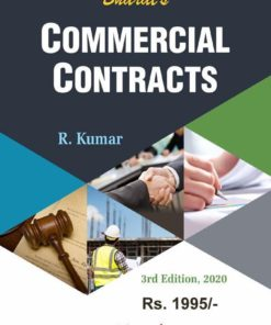 Bharat's Commercial Contracts by R. Kumar - 3rd Edition June 2020