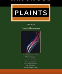 ELH's Majumder's Plaints by Purnendu Bhattacharyya - 5th Edition 2019
