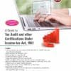 Wolters Kluwer's A Guide to Tax Audit and Other Certifications Under Income Tax Act, 1961 by Amit Ashok Purohit - 5th Edition July 2020