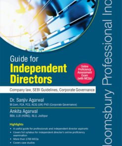 Bloomsbury's Guide for Independent Directors by Dr. Sanjiv Agarwal - 1st edition July 2020