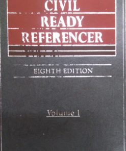 Kamal's Civil Ready Referencer (5 Volumes) by Justice Nandi - 8th Edition 2019