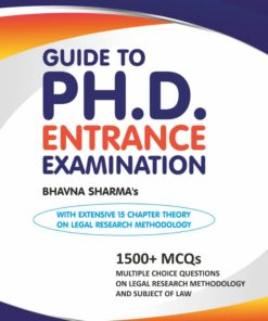 Whitesmann's Guide to PH.D. Entrance Examination by Bhavna Sharma - 1st Edition 2020