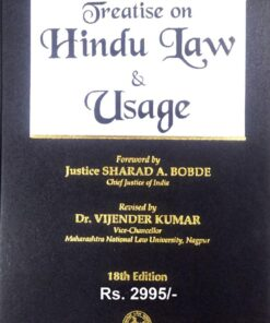 Mayne's Treatise on Hindu Law & Usage by Dr. Vijender Kumar - 18th Edition August 2020