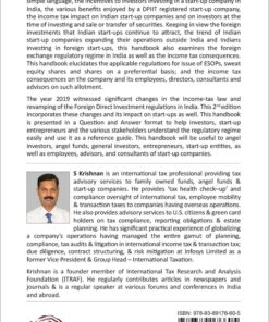 Oakbridge's Investing in Indian & Foreign Start-up Companies by S Krishnan - 2nd Edition September 2020