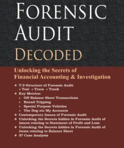 Taxmann's Forensic Audit Decoded by G.C Pipara - 1st Edition August 2020