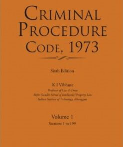 Lexis Nexis's Criminal Procedure Code, 1973 by D D Basu - 6th Edition 2017