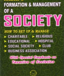 Nabhi's Formation and Management of a Society - 28th Revised Edition 2020