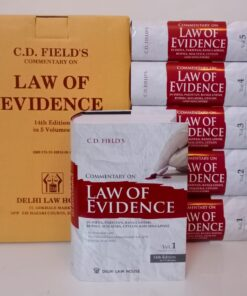DLH's Law of Evidence (5 Volumes) by C.D.Field -14th Edition 2021